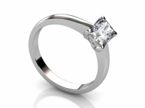Radiant Diamond Ring SPAF06