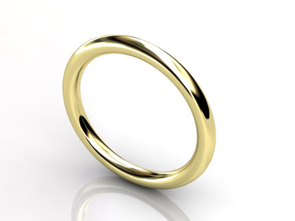 gold halo wedding bands WLY06