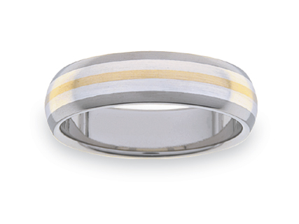 Titanium wedding rings WLT14