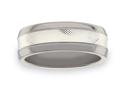 Titanium wedding rings WLT15